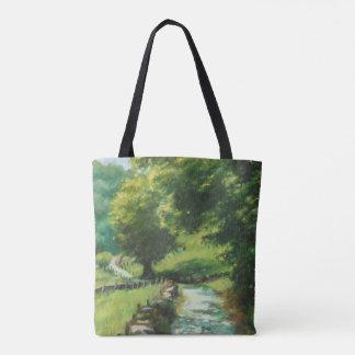 Tote Bag Landscape of nature. Navarre