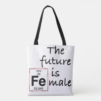 Tote Bag L'avenir est le mâle [Fe]
