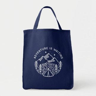 Tote Bag L'aventure attend l'épicerie Fourre-tout
