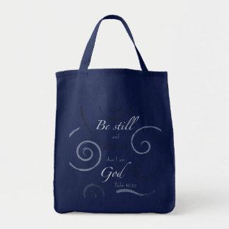 Tote Bag Le 46:10 de psaume choisissent votre propre