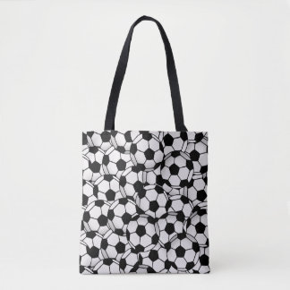 Tote Bag Le ballon de football de maman du football portent