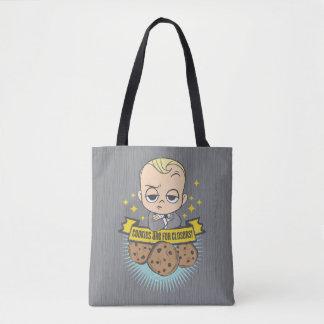Tote Bag Le bébé et les biscuits du bébé | de patron sont