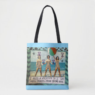 Tote Bag Le besoin de sac-Je de Fourre-tout par vacances