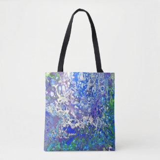 Tote Bag Le bleu bouillonne Fourre-tout