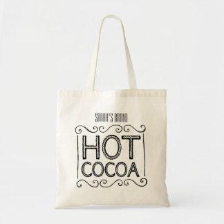 Tote Bag Le cacao chaud ajoutent votre nom