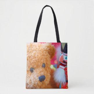 Tote Bag Le casse-noix parle à l'ours de nounours