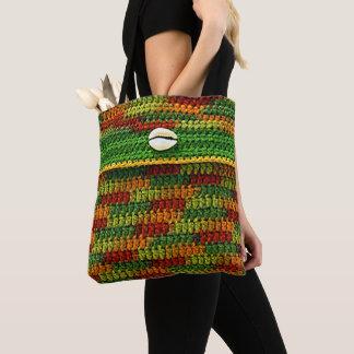 Tote Bag Le cauri Shell sur le crochet unique de couleurs