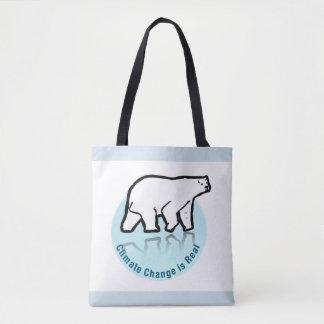 Tote Bag Le changement climatique est vrai
