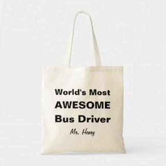 Tote Bag Le chauffeur du bus le plus impressionnant du