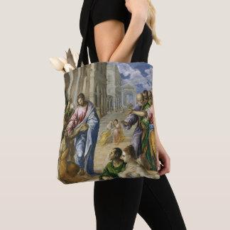 Tote Bag Le Christ guérissant les aveugles