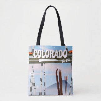 Tote Bag Le Colorado à skier !