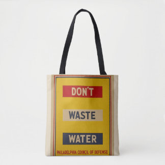 """Tote Bag Le cru """"font pas les eaux usées"""" Fourre-tout"""