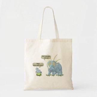 Tote Bag Le dinosaure indique que Dieu n'existe pas