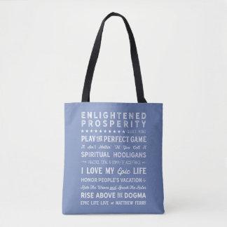 Tote Bag Le double d'inspiration de ferry de Matthew a
