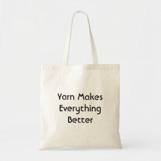 Tote Bag Le fil rend tout meilleur