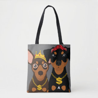 Tote Bag Le frappeur de Pin BT2MPS Gansta de minute