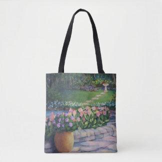 Tote Bag Le jardin d'Elaine