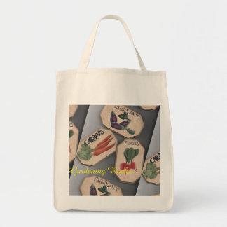 """Tote Bag Le """"jardinage bascule"""" le marché Fourre-tout"""