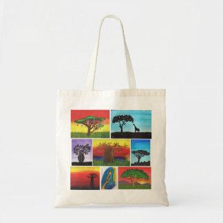 Tote Bag Le Kenyan badine des peintures