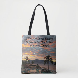 Tote Bag Le lever de soleil de nouvelle année au Mexique