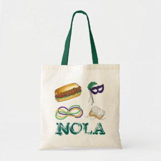 Tote Bag Le mardi gras de NOLA la Nouvelle-Orléans