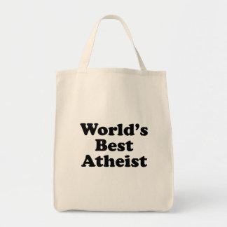 Tote Bag Le meilleur athée du monde