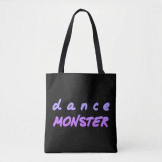 Tote Bag Le monstre de danse