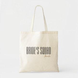 Tote Bag Le nom customisé par peloton de la jeune mariée