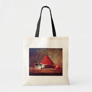 Tote Bag Le panier de fraise par Chardin Jean-Baptiste Sim