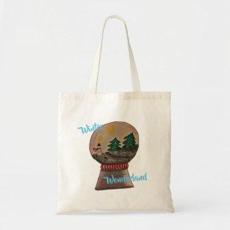 Tote Bag Le pays des merveilles Fourre-tout d'hiver