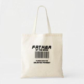 Tote Bag Le père de la jeune mariée balayent svp pour le