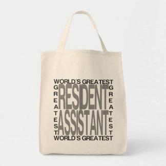 Tote Bag Le plus grand assistant résident des mondes