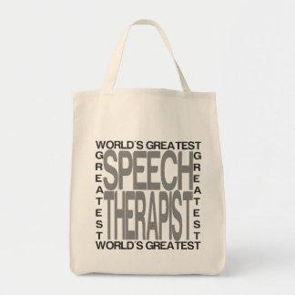 Tote Bag Le plus grand orthophoniste des mondes
