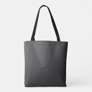 Tote Bag Le polyester balayé solide AJOUTENT le texte de