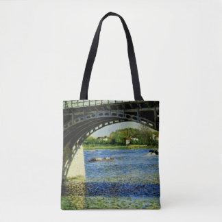 Tote Bag Le pont à Argenteuil et la Seine