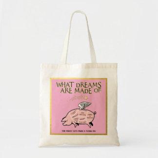 Tote Bag Le porc de vol a coupé de Diagramme-Ce qui rêve