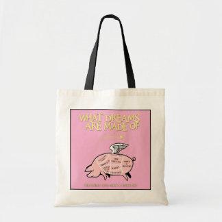 Tote Bag Le porc de vol Coupe-Ce qui rêve sont faits de