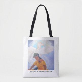 Tote Bag Le rêve de la prêtresse condamnée - méduse