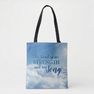Tote Bag Le seigneur est ma force