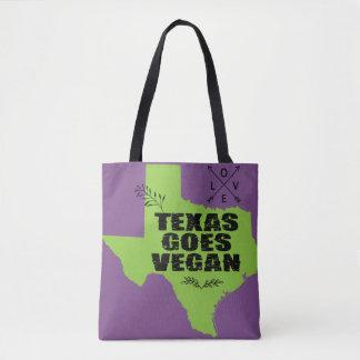 Tote Bag Le Texas va végétalien