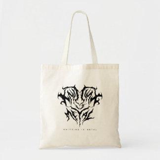 Tote Bag Le tricot est logo Fourre-tout en métal