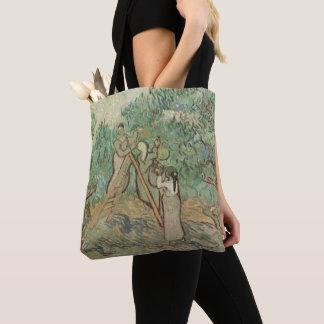 Tote Bag Le verger olive