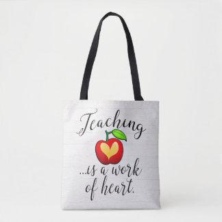 Tote Bag L'enseignement est un travail d'appréciation de