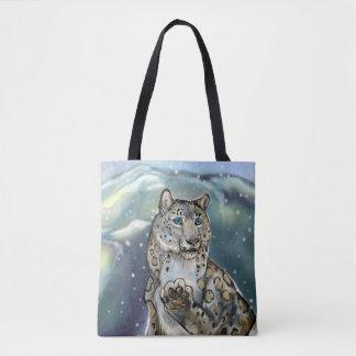 Tote Bag Léopard de neige