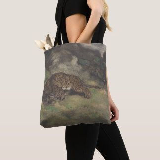 Tote Bag Léopard et serpent