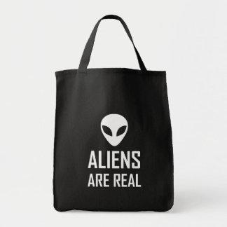 Tote Bag Les aliens sont la vraie science-fiction