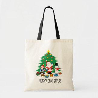 Tote Bag Les amis de Père Noël