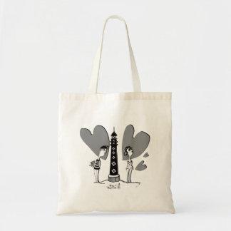 Tote Bag Les Amoureux au Phare de Biarritz