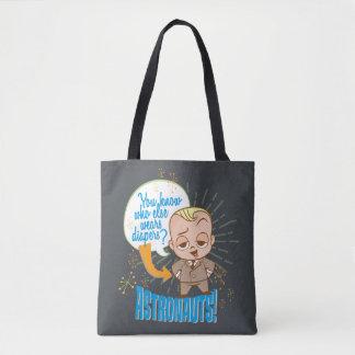Tote Bag Les astronautes du bébé | de patron