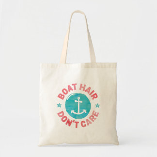 """Tote Bag Les """"cheveux de bateau ne s'inquiètent pas"""""""